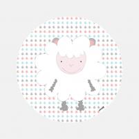 Vinilo Infantil Animal Oveja vinilo decorativo de pared para Niños