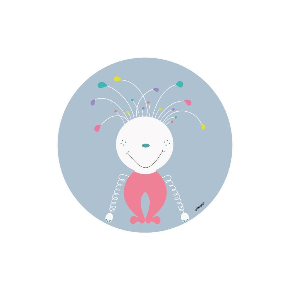 Vinilo Infantil Niño Monstruo, vinilo decorativo de pared para la habitación del Bebé, Niña o Niño