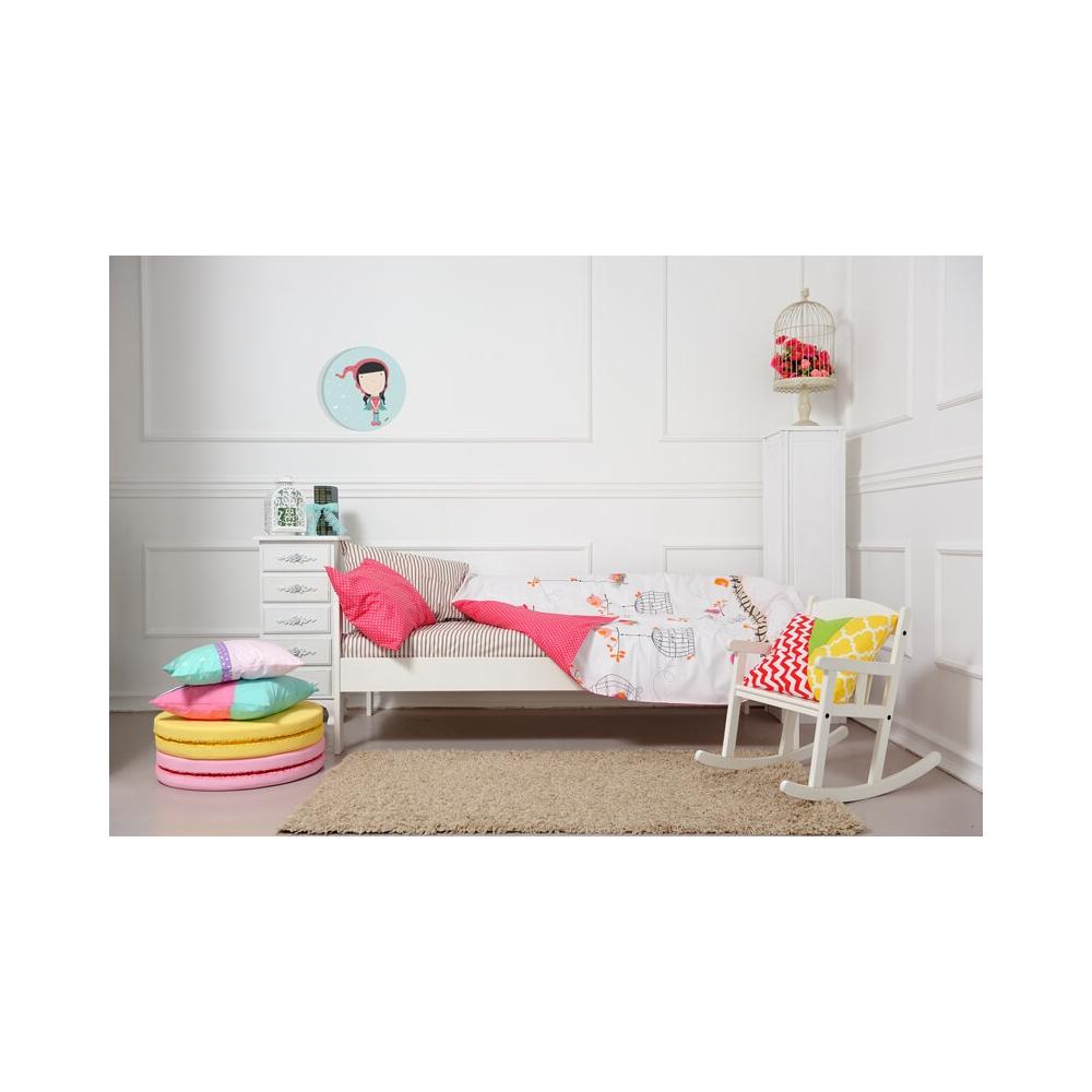 Cuadro Redondo Caperucita Roja, cuadro infantil decorativo para Bebés y Niñas