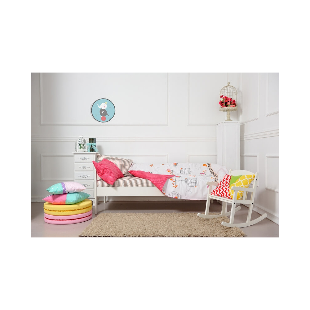 Cuadro redondo elefante, cuadro decorativo infantil