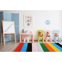 Cuadro Redondo Pulpo, cuadro infantil decorativo para Niños