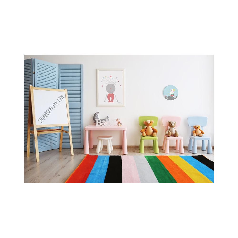 Cuadro Infantil Princesa Hechizando, cuadro decorativo para Bebés y NIñas
