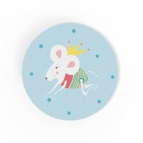 Cuadro Redondo Princesa, cuadro infantil decorativo para Bebés y Niñas