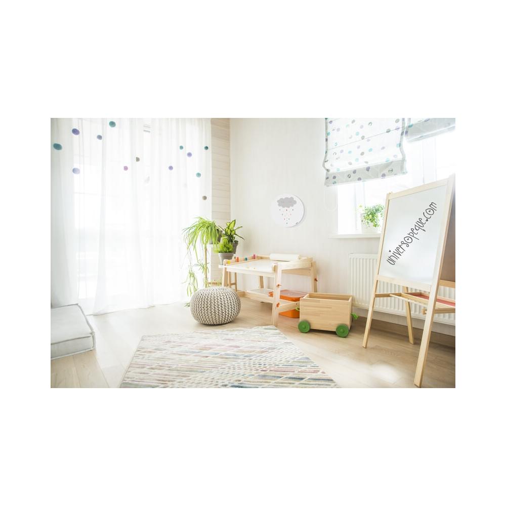 Cuadro Redondo Nube, cuadro decorativo para Niños